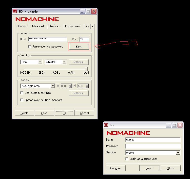 X Window Systemが使えない環境ではFreeNX を使うといいね
