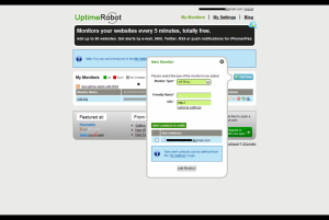 Free Website Uptime Monitoring - Uptime Robot