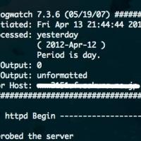 CentOS6にlogwatchを導入する